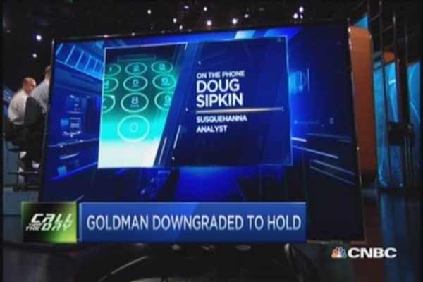 Debating Goldman Sachs downgrade