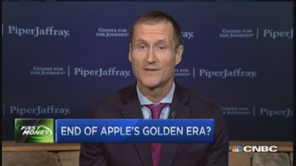End of Apple's golden era?