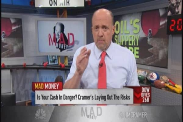 Cramer's take on oil's crash