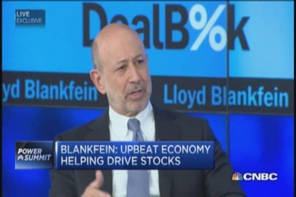 Goldman's Blankfein: Think of low oil as tax cut