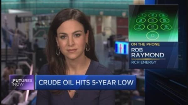 Trader Rob Raymond: Oil is new housing bubble
