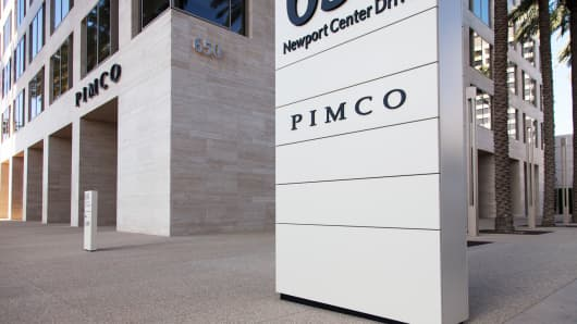PIMCO headquarters building in Newport Beach, Calif.