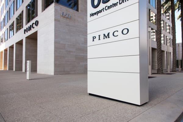 PIMCO headquarters building in Newport Beach, Calif.