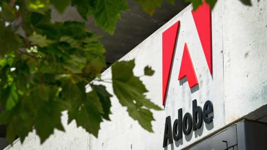 India best technology companies: Adobe Nvidia Microsoft SAP