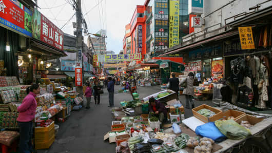 Namdaenum Market, Seoul