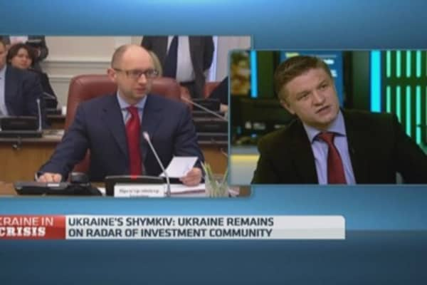 Ukraine PM and president on same page: Politician