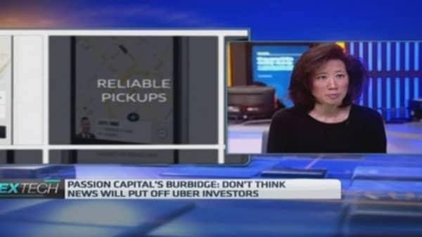 Uber's misdemeanours won't discourage investors