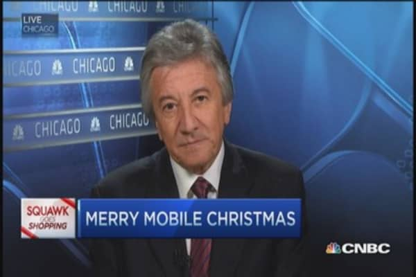 It's a very merry mobile Christmas