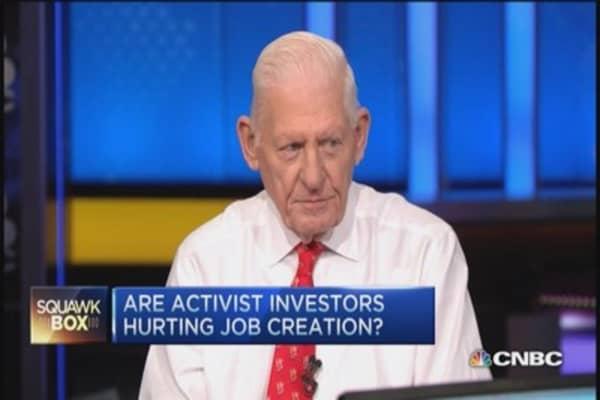 Are activist investors hurting jobs?