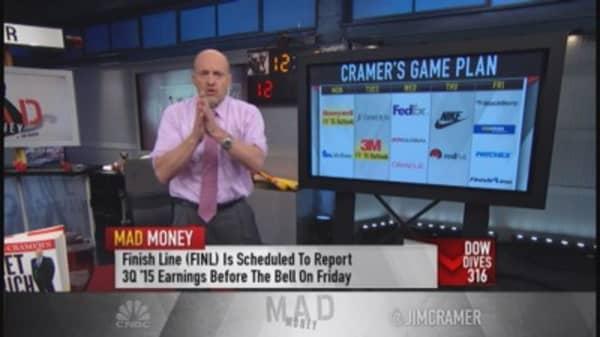 Cramer: Oil pain trumps consumer pleasure