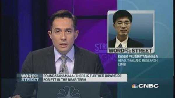 Amid oil's slump, should you worry about Thailand's PTT?
