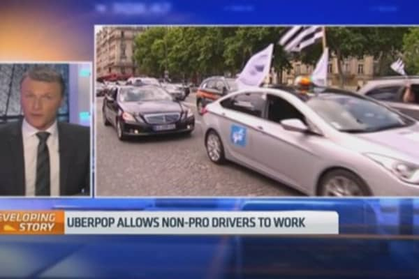 Uberpop is a 'danger' to French customers