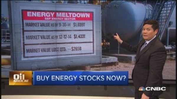 Time to buy into energy meltdown?