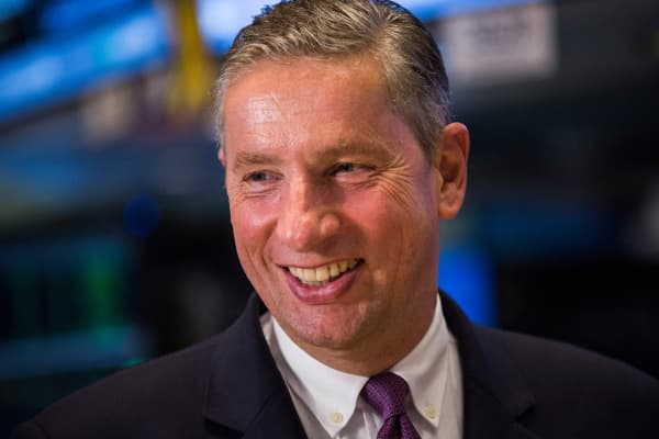 Klaus Kleinfled, CEO of Alcoa
