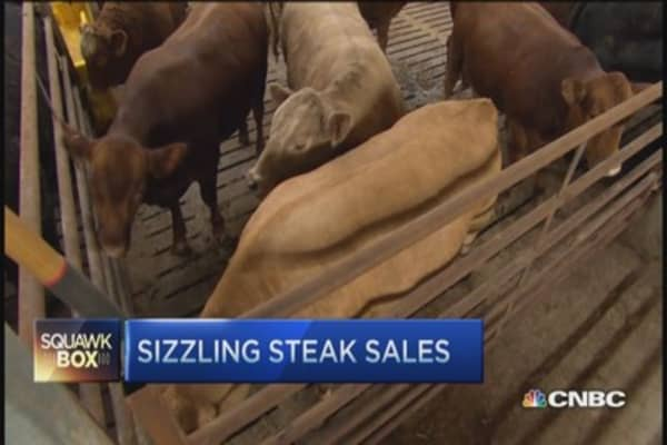 What's causing beef prices to sizzle?
