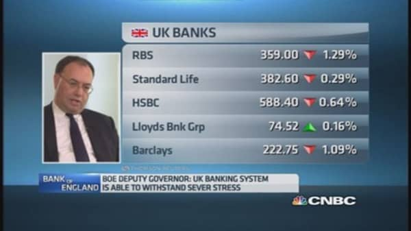 BoE deputy governor on economic risks