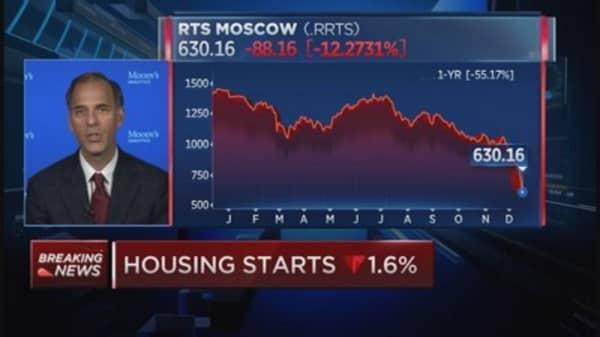 Russia has resources to stabilizer ruble: Zandi