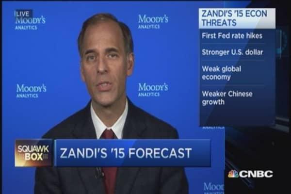 Zandi's 2015 forecast... very good year for jobs