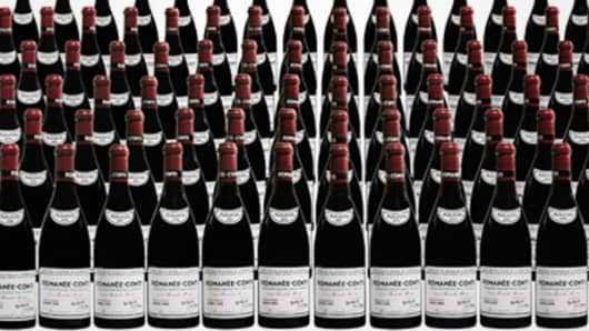 Most Expensive 2014- wine Romanee-Conti