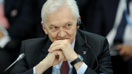Russian billionaire Gennady Timchenko.