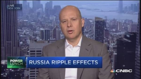 Russia's ruble ripple