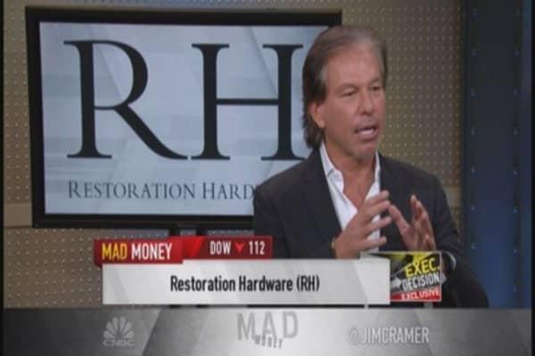 Restoration Hardware's innovation & creativity