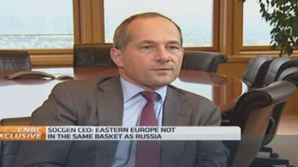 New Cold War won't happen: SocGen CEO