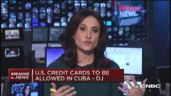 US debit & credit cards allowed in Cuba: Report