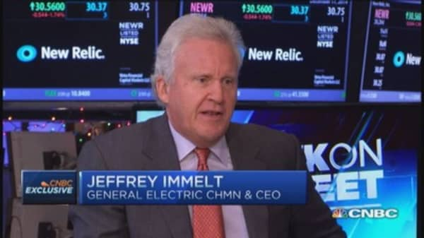 GE's Immelt: Oil cycle an opportunity