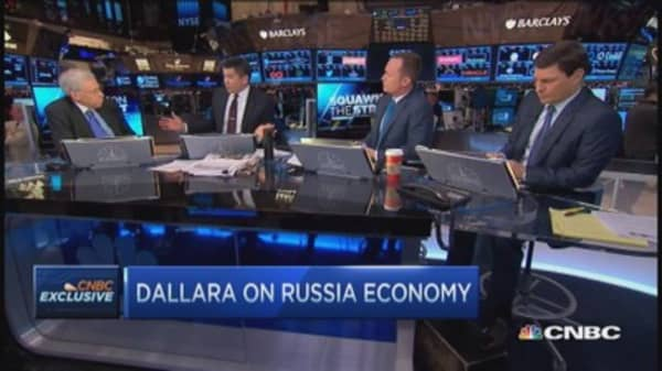 Russia on brink of financial crisis: Charles Dallara