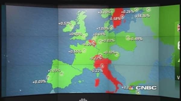 Europe closes higher, energy stocks bounce back