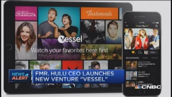 Ex- Hulu CEO launches 'Vessel'