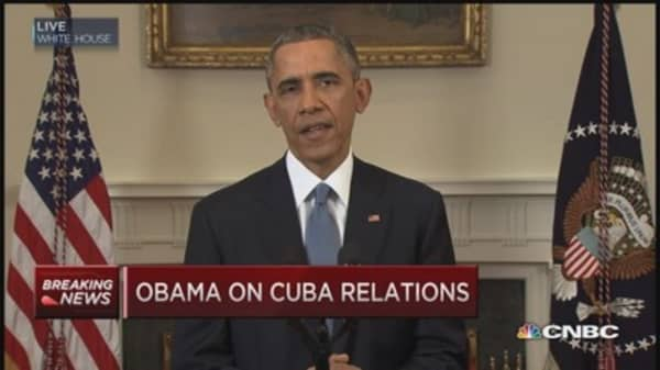 President Obama: US will end outdated approach toward Cuba