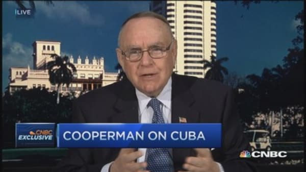 Cooperman: Good things come from ease on Cuba