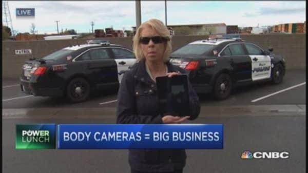Big business of body cameras