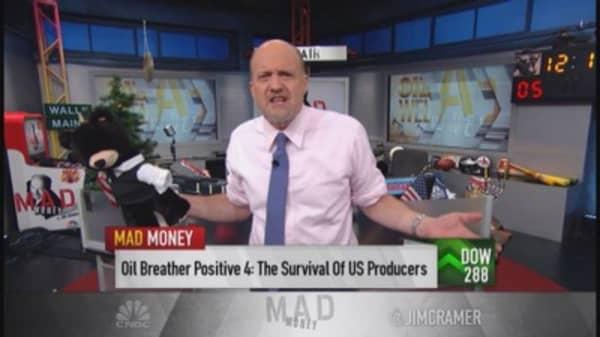 Cramer: What a day for Goldilocks