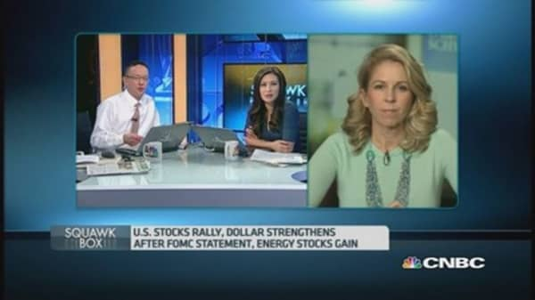 What was the catalyst for the US rally?