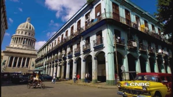 Cuba-related stocks rally