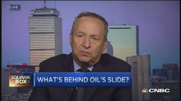 Oil out of sync with other commodities: Summers