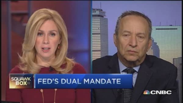 Fed's balancing act: Summers