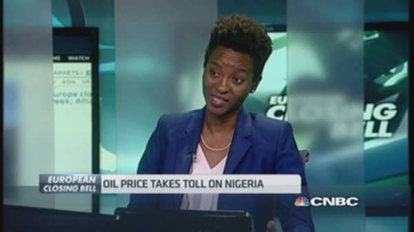 Nigeria central bank saving 'for a rainy day'