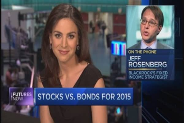 Jeff Rosenberg: Stocks to beat bonds in 2015