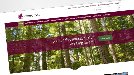 Plum Creek home page