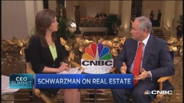 Schwarzman: No shortage of opportunities