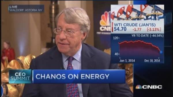 Chanos: Energy bifurcating