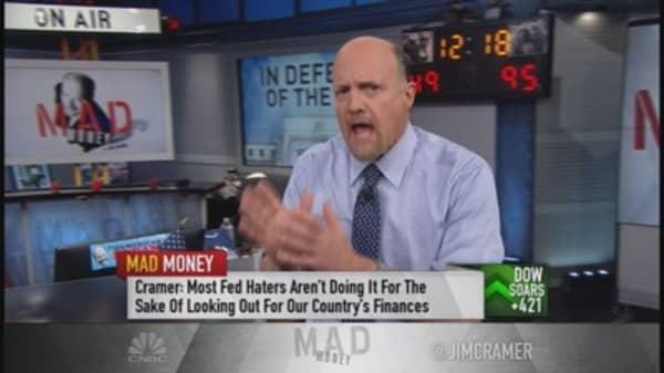 Cramer: Listen up short-selling 'moralists'