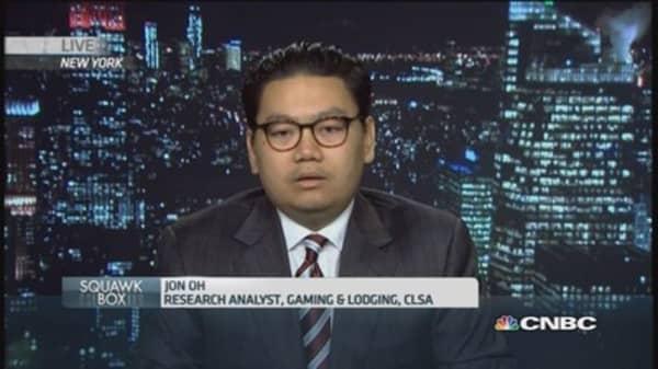 Gloomy days ahead for Macau gaming shares