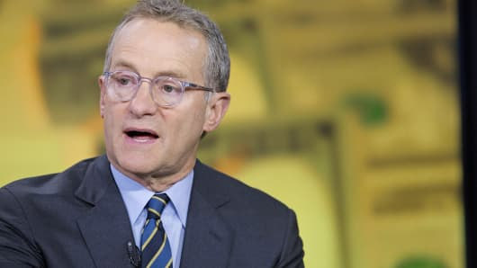 Oaktree Capital Management co-founder and Chairman Howard Marks speaks during an interview in New York, Sept. 5, 2014.