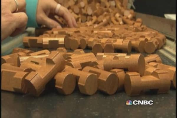 Made in the USA: Lincoln Logs comes back home