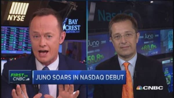 Juno CEO: Developing new hope for cancer
